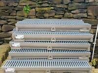Aco RainDrain CHANNEL AND GRATING 1 METRE