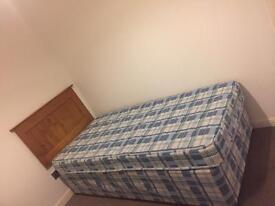Single Divan Bed and Mattress x2 £15 each. Single M&S Headboard x2 £15 each.