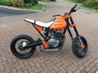 Honda FMX650 Cafe racer Bobber Super Moto