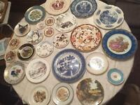 Various plates - some collectables
