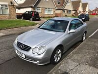 2004 '04' Mercedes CLK 270CDI Turbo Diesel Coupé Automatic Facelift - High Spec