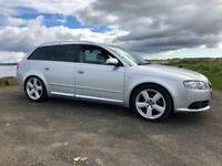 Audi A4 Avant S-line 170 LOW MILEAGE!