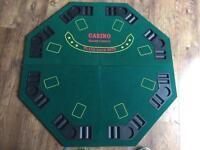 Poker table topper
