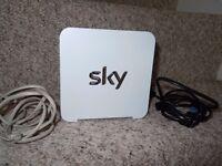 Sky Hub Router & Sky Catch up TV Box