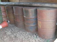 45 gallon drums