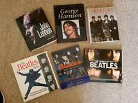 THE BEATLES BOOKS - JOB LOT OF 7 RARE BOOKS £25
