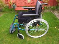 Selfpropelled wheelchair very good condition.