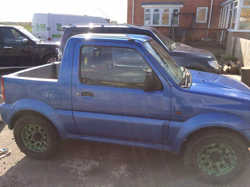 suzuki jimny pick up comes with iforwillams canopy recaro bucket seat pulse much more in. Black Bedroom Furniture Sets. Home Design Ideas