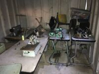 Industrial sewing Machines(job lot)