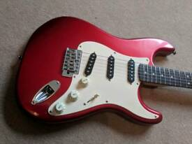 Squier Affinity Strat (Candy Apple Red)