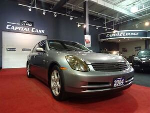 2004 Infiniti G35 LEATHER / SUNROOF / REMOTE STARTER