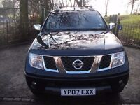 Nissan Navara 2.5 dCi Outlaw Double Cab Pickup 4drNEW MOT + + 2 OWNER 2007 (07 reg), Pickup