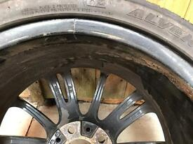 BMW mv3 rear alloy wheel