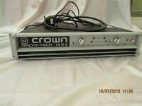 CROWN MACRO TECH 1202 POWER AMPLIFIER