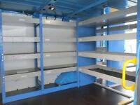 Van Shelving / Racking - Ford Transit - Heavy Duty - British Gas - Tool Storage