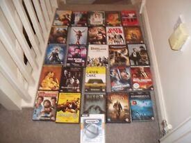 DVDS & VIDEO GAMES CARBOOT JOBLOT