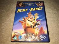 DISNEY HOME ON THE RANGE DVD