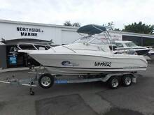 2002 Cruise Craft Explorer 575 + Yamaha 130hp 2-Stroke Outboard Boondall Brisbane North East Preview