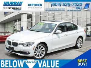 2016 BMW 328I xDrive**NAVI**LEATHER**SUNROOF**