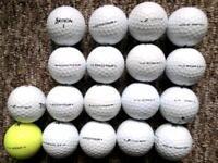 "18 Srixon ""tour"" golf balls in excellent condition ad333 tour, Zstar"