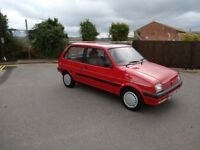 Only 43000 miles from new - Rover Metro 1.3 L - New MOT - Totally original - drives excellently
