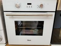 New Swan SXB70110W 60cm Built-In Single Electric Fan Oven - White