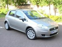 EXCELLENT CAR!!! 2007 FIAT GRANDE PUNTO DYNAMIC 1.2 5dr, 1 YEAR MOT, 2 FORMER KEEPERS, WARRANTY