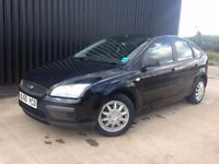 2005 (55) Ford Focus 1.6 LX 5dr 2 Keys 1 Previous Owner 12 Month MOT Low Mileage 1 Month Warranty