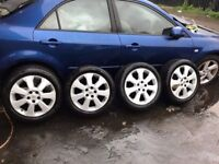 Vauxhall wheels for signum zafira vectra tyres new