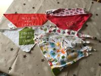 Baby Bib Selection - 8 Bibs