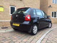 2004 Volkswagen Polo 1.2 Twist 5dr, Black, 81k, Quick Sale Needed!!