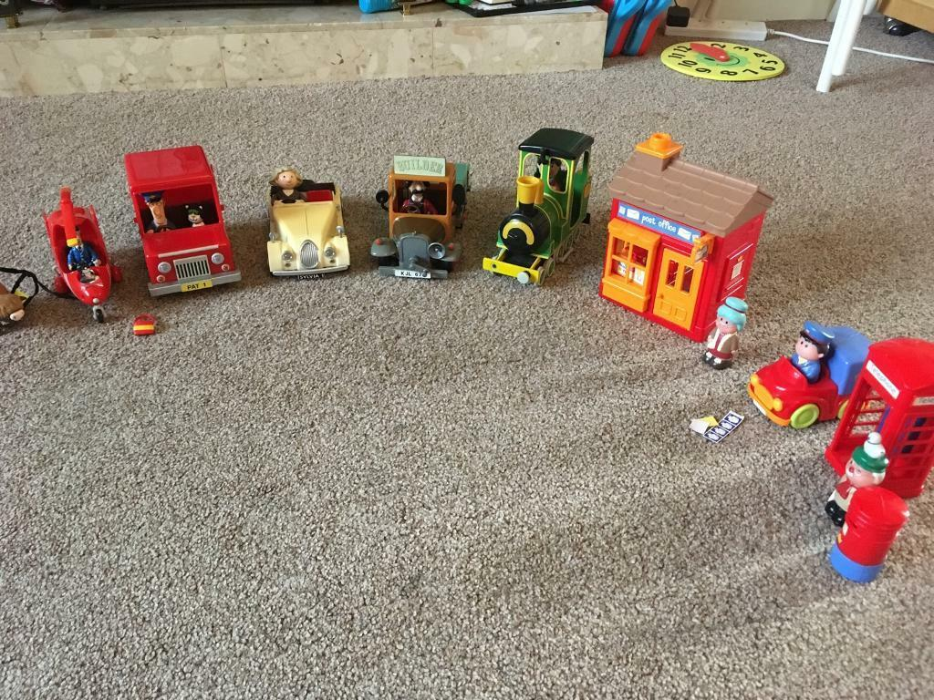 Elc happyland post office and postman pat bundle