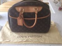 LOUIS VUITTON Authentic Deauville Travel/Cosmetic Case