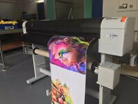 Mutoh ValueJet 1204 large format, eco-solvent printer