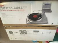 Ion usb turntable