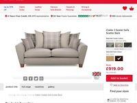 Scs Clarke 3 seat sofa