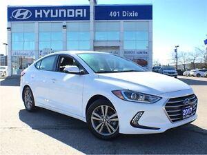 2017 Hyundai Elantra GL ONE OWNER BACK-UP CAM HEATED SEATS AND W
