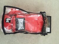 Lonsdale 6oz boxing gloves