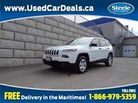 2014 Jeep Cherokee Sport 4X4 Htd Seats Fully Equipped