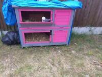 Rabbit Hutch 2 Tier