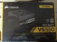 Corsair VS550 PSU 80 + ** BRAND NEW SEALED**