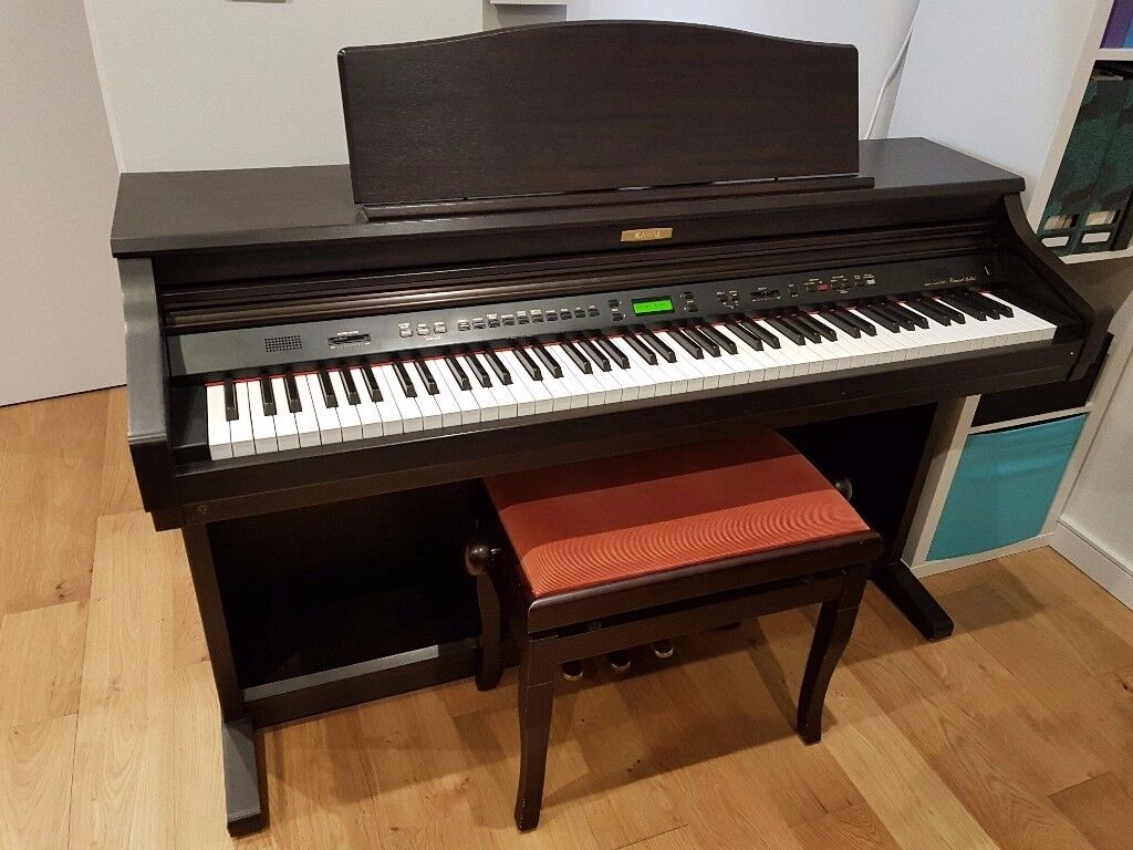 kawai ca51 digital piano rosewood with wooden key action piano stool in seven sisters. Black Bedroom Furniture Sets. Home Design Ideas