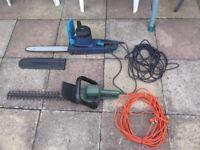 headge trimmer chain saw