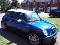Mini Cooper S 1.6 2005 Blue