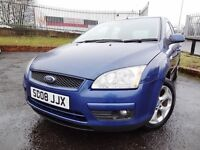 2008 Ford Focus Style 1.6 Exzcellent MOT until 25th February 2018