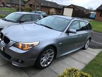BMW 5 Series 523i M Sport Grey Touring Automatic