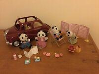 sylvanian families panda picnic car £10