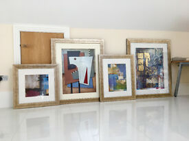 Abstract Art Collection - Framed