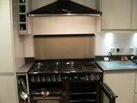 Rangemaster 110 Gas Cooker with Hood; very good condition, extremely well maintained.