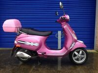 2010 PIAGGIO VESPA LX50 AUTOMATIC SCOOTER , 9 MONTHS MOT VERY LOW MILES ,GREAT CONDITION